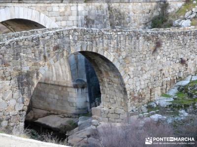 Puentes Medievales Río Manzanares; ropa termica deportiva membranas impermeables refugio bujaruelo